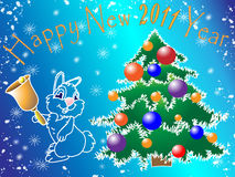 Imagen del Año Nuevo Fotografía de archivo libre de regalías