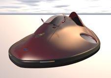 Imagen 1 del aerodeslizador del coche imagenes de archivo