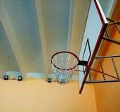 Imagen del anillo del baloncesto imágenes de archivo libres de regalías