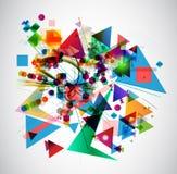 Imagen del arte abstracto Stock de ilustración