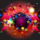 Imagen del arte abstracto Ilustración del Vector