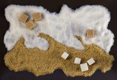 Imagen del azúcar Fotos de archivo libres de regalías