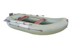 Imagen del barco inflable fotografía de archivo