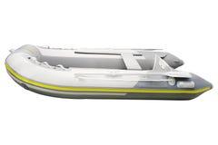 Imagen del barco inflable foto de archivo libre de regalías