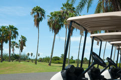 Imagen del campo de golf. Imagenes de archivo