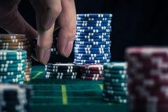 Imagen del casino fotografía de archivo