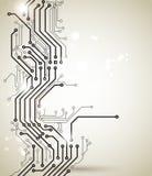 Imagen del circuito stock de ilustración