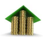 Imagen del concepto de la hipoteca Foto de archivo libre de regalías