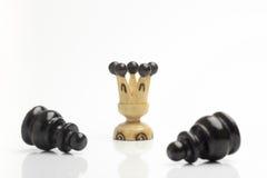 Imagen del concepto del ajedrez - éxito Fotografía de archivo libre de regalías