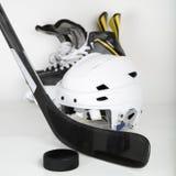Imagen del cuadrado del engranaje del hockey Fotografía de archivo