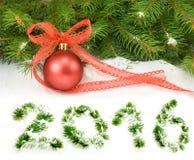 Imagen del diverso primer de las decoraciones de la Navidad Imagen de archivo libre de regalías