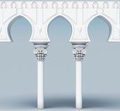 Imagen del elemento arquitectónico Acueducto del arco representación 3d libre illustration