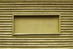 Imagen del fondo de madera marrón con un marco Foto de archivo libre de regalías