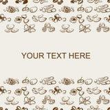 Imagen del fondo nuts Imagen de archivo libre de regalías