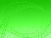Imagen del fractal en fondo del verde del gradiente Imagen de archivo libre de regalías
