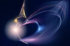 Imagen del fractal: modelo de lujo Fotos de archivo