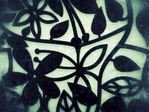 Imagen del Grunge del fondo de la flor Imagen de archivo libre de regalías