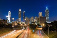 Imagen del horizonte de Atlanta Fotografía de archivo