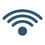 Imagen del icono de la señal de Wifi Imagen de archivo