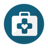 Imagen del icono del equipo de primeros auxilios Fotografía de archivo