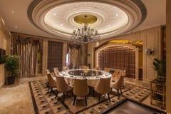 Imagen del interior del hotel de lujo Fotografía de archivo libre de regalías
