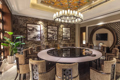 Imagen del interior del hotel de lujo Foto de archivo
