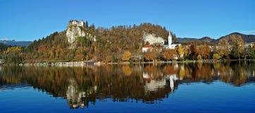 imagen del lago 7am Imagen de archivo libre de regalías
