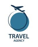 Imagen del logotipo del viaje Imagen de archivo