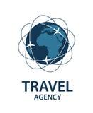 Imagen del logotipo del viaje Fotografía de archivo libre de regalías