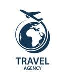 Imagen del logotipo del viaje Fotos de archivo libres de regalías