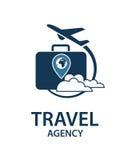 Imagen del logotipo del viaje Foto de archivo