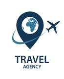 Imagen del logotipo del viaje Fotos de archivo