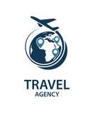 Imagen del logotipo del viaje Foto de archivo libre de regalías