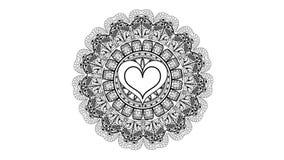Imagen del modelo de los corazones Fotos de archivo