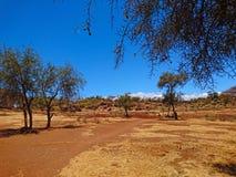 Imagen del paisaje para el uso del fondo Fotografía de archivo