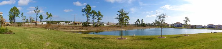 Imagen del patio en el lugar del centro turístico Fotos de archivo libres de regalías