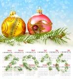 Imagen del primer de las decoraciones de la Navidad Imagenes de archivo
