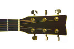 Imagen del primer de los sintonizadores clásicos de la guitarra Fotos de archivo