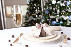 Imagen del regalo de lujo del Año Nuevo Imagenes de archivo