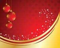 Imagen del saludo de la Navidad Fotografía de archivo