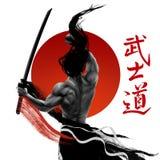 Imagen del samurai Foto de archivo