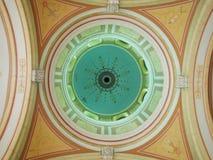 Imagen del techo de arcadas foto de archivo