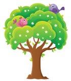 Imagen 4 del tema del árbol de la primavera Fotografía de archivo