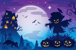 Imagen 8 del tema de Halloween stock de ilustración