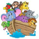 Imagen 1 del tema de la arca de Noahs Foto de archivo libre de regalías