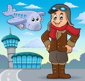Imagen 4 del tema de la aviación libre illustration