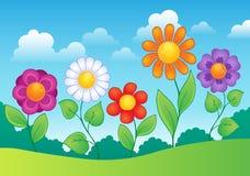 Imagen 9 del tema de la flor Imágenes de archivo libres de regalías