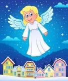 Imagen 7 del tema del ángel Foto de archivo