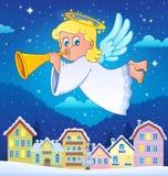 Imagen 6 del tema del ángel Fotos de archivo libres de regalías