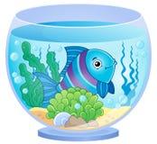 Imagen 8 del tema del acuario ilustración del vector